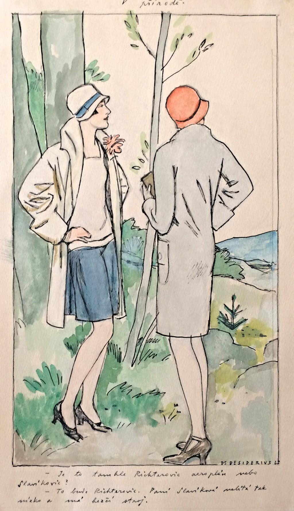 Desiderius (Hugo Bottinger) 1880 - 1934 : V přírodě