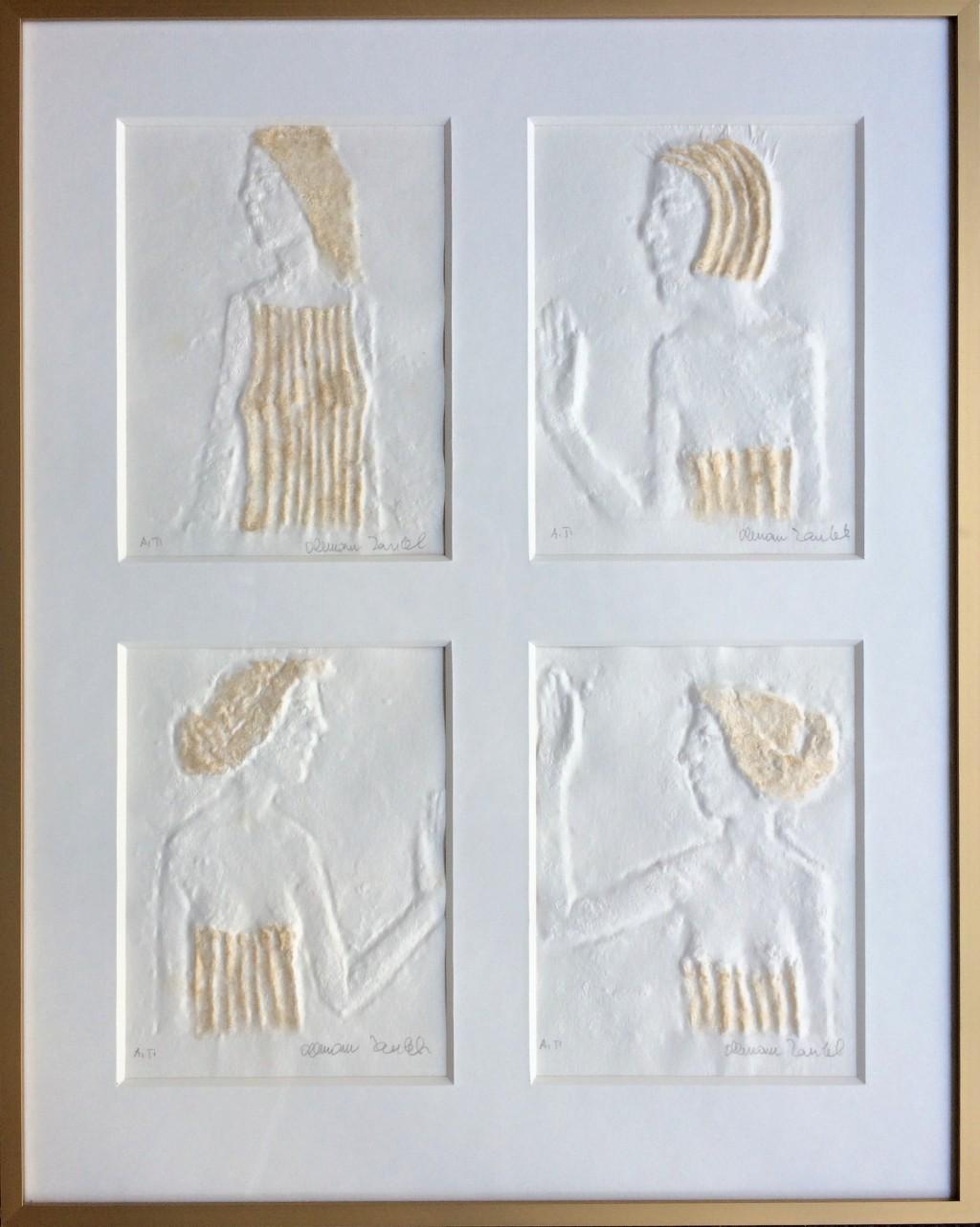 Zoubek Olbram (1926 - 2017) : 4x dívka