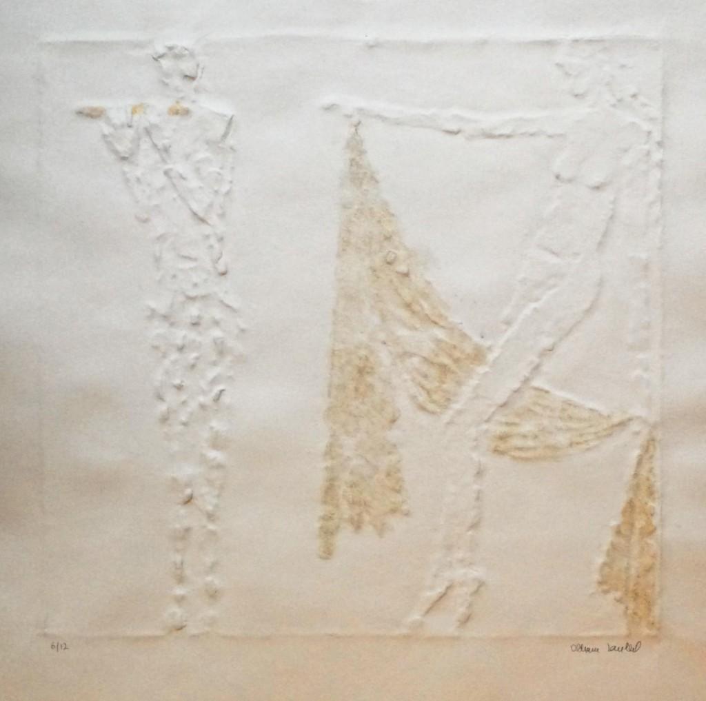 Zoubek Olbram (1926 - 2017) : Faun a Nymfa
