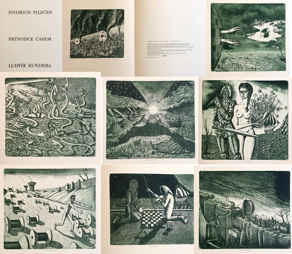 1. Bibliofilie  : Průvodce časem: Jindřich Pileček - Ludvík Kundera