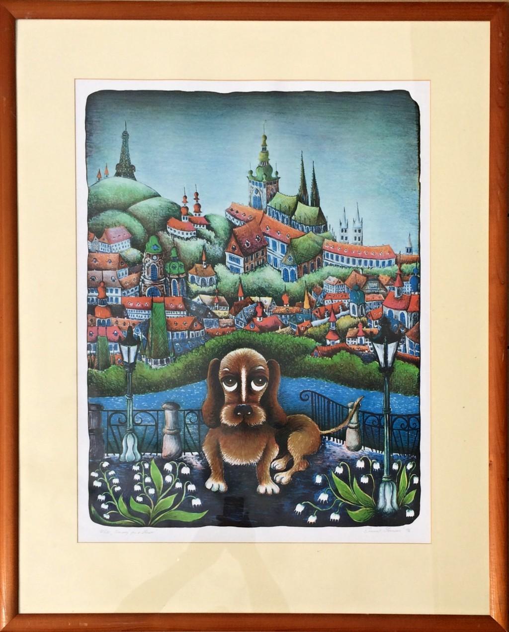 Srncová Emma (1942) : Ztracený pes v Praze