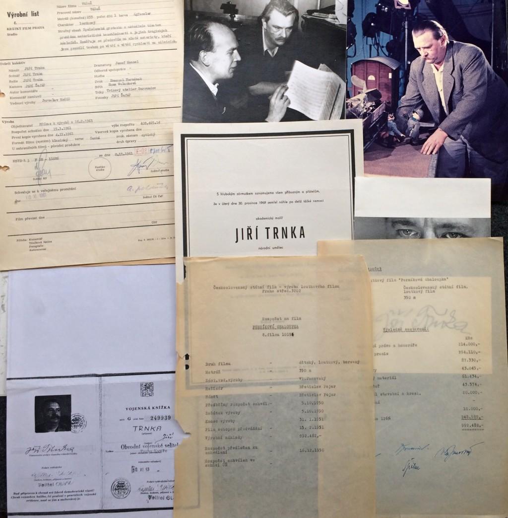 Trnka Jiří (1912 - 1969) : Personálie J. Trnky