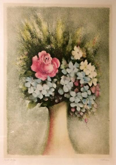 Jiřincová Ludmila (1912 - 1994) : Kytice ve váze