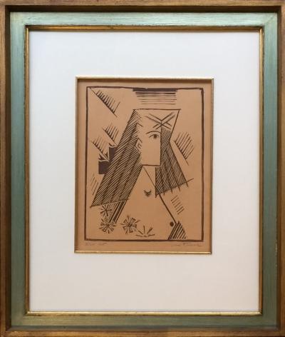 Čapek Josef (1887 - 1945) : Dívčí tvář