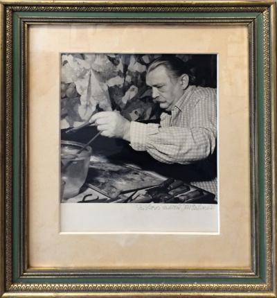 Šafář Jiří (1921) : Jiří Trnka v ateliéru