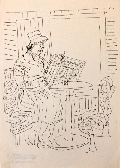 Šlitr Jiří (1924 - 1969) : Ve vídeňské kavárně