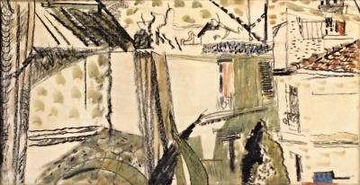 Tichý František (1896 - 1961) : Střechy Paříže