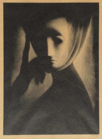 Jiřincová Ludmila (1912 - 1994) : Zamyšlená