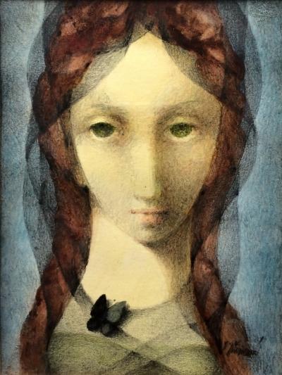 Jiřincová Ludmila (1912 - 1994) : Tmavý motýlek