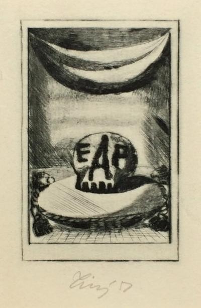 Tichý František (1896 - 1961) : Frontispice k povídkám E. A. Poea
