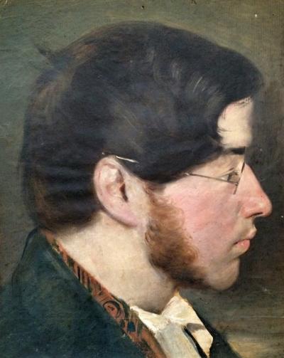 Umlauf Ignác (1821-1851) : Portrét nezn. mladíka