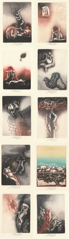 Kuklík Ladislav (1947) : Soubor grafik