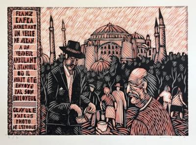 Macek Pavel  : Kafka v Istambulu