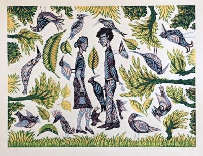 Macek Pavel  : Vyznání lásky v ornitologické rezervaci