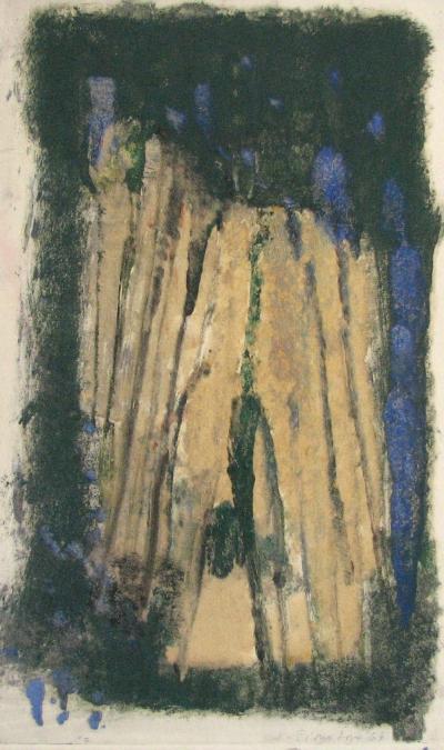 Šimotová Adriena (1926 - 2014) : Zvětralý kámen