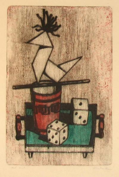 Ketzek František (1906 - 1978) : Kouzelnické zátiší