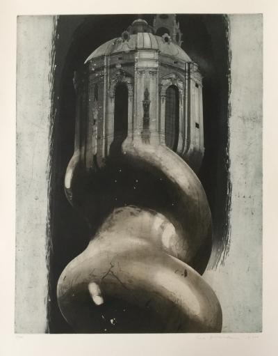 Hašková Eva (1946) : Pocta K.I. Dientzenhofferovi