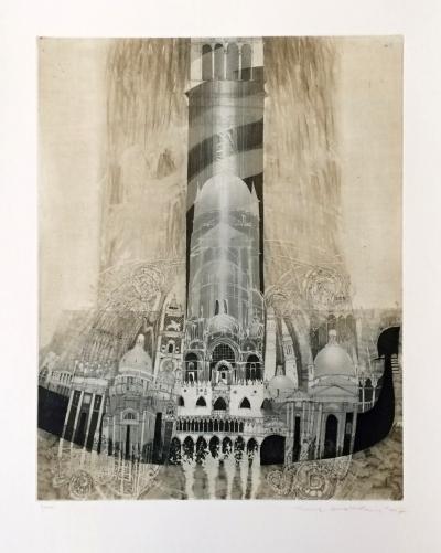 Hašková Eva (1946) : Venezia - Mezi nebem a mořem