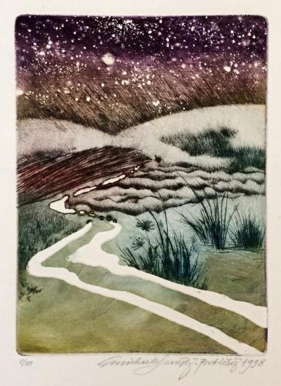 Lesařová - Roubíčková Michaela (1949) : Únor