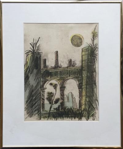 Tichý František (1896 - 1961) : Ilustrace k básním Lermontova