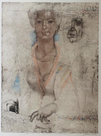 Anderle Jiří (1936) : Smysly - Sluch