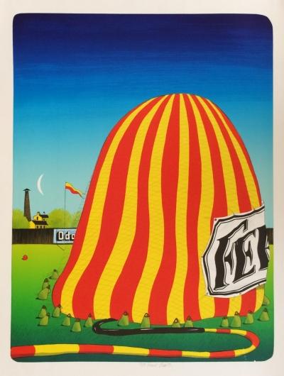 Bím Tomáš (1946) : Plnění balónu