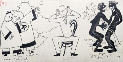 Hoffmeister Adolf (1902 - 1973) : Ilustrační kresba