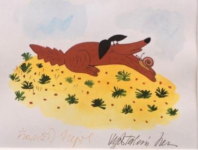Nepil František (1929 - 1995) : Šťastný pes