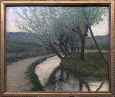 Novák Arno (1872 - 1914) : Olše u potoka