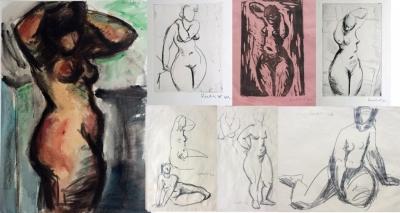 Rublič Ivo (1900) : Kontolut 14 kreseb a grafik