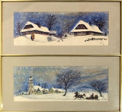 Štembera Otakar (1914 - 1999) : 2 x kresba