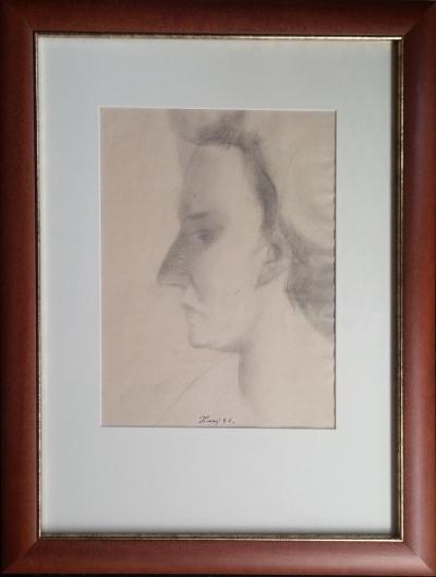 Tichý František (1896 - 1961) : Portrét ženy