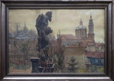 Wierer Alois (1878 - 1945) : Z Karlova mostu
