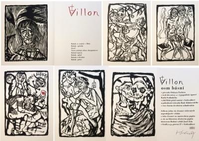 1. Bibliofilie  : Francois Villon - 8 básní