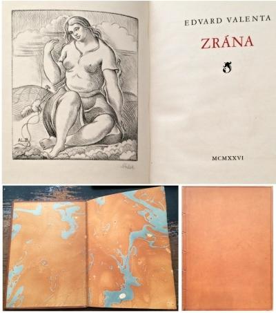 1. Bibliofilie  : Edvard Valenta - Zrána