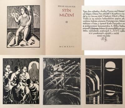 1. Bibliofilie  : E.A. Poe - Stín mlčení
