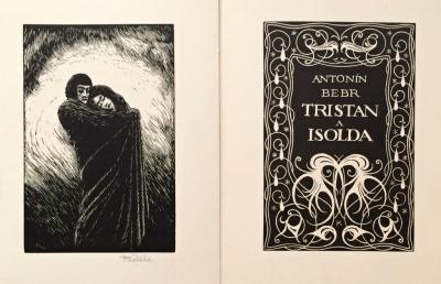 1. Bibliofilie  : Tristan a Isolda - F. Kobliha