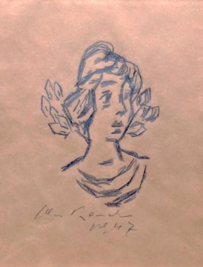 Bauch Jan (1898 - 1995) : Dívčí portrét