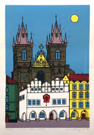 Čech František Ringo (1943) : Týnský chrám
