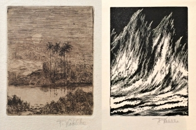 Kobliha František (1877 - 1962) : 2x grafika