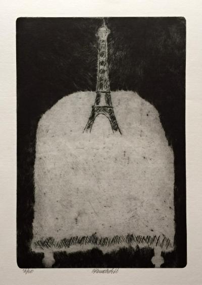 Komárek Vladimír (1928 - 2004) : Vzpomínka na Paříž