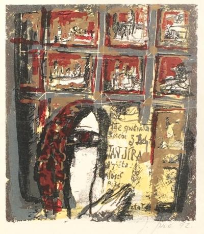 Jíra Josef (1929 - 2005) : Letařovická deska