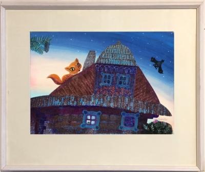 Kudláček Jan (1928) : Liška na střeše