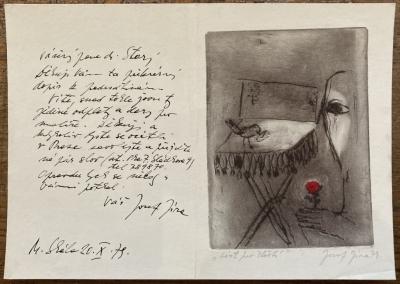 Jíra Josef (1929 - 2005) : List pro štěstí