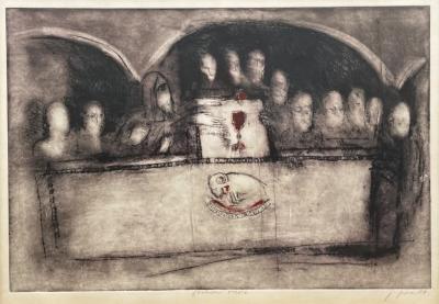 Jíra Josef (1929 - 2005) : Poslední večeře