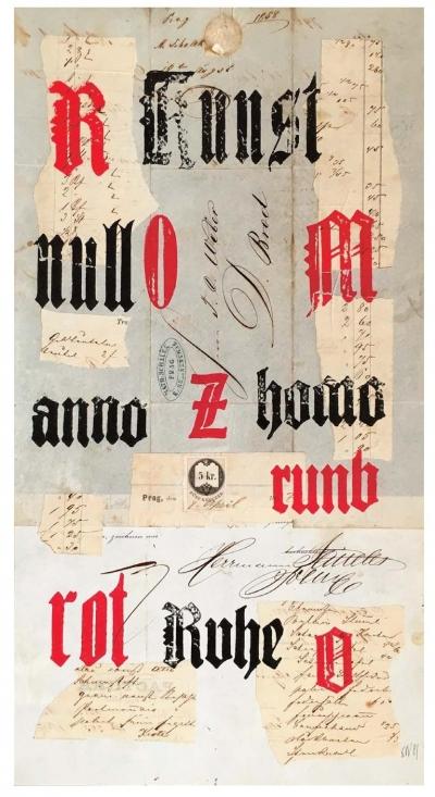 Trinkewitz Karel (1931 - 2014) : Kunst, Null, Anno, Homo, Rot, Ruhe