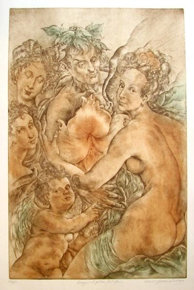 Kulhánek Oldřich (1940 - 2013) : Omaggio al pittori Rudolfini