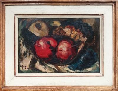 Emler František (1912 - 1992) : Mísa s ovocem