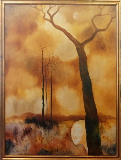 Janeček Ota (1919 - 1996) : Podzimní procházka