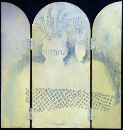 Komárek Vladimír (1928 - 2004) : Rozkládací triptych
